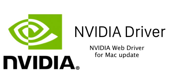 Nvidia cuda driver update mac
