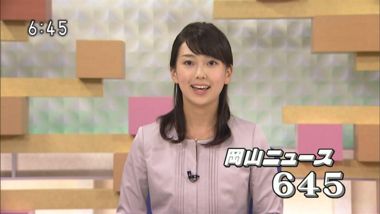 NHK岡山放送局キャスターの和久田麻由子。 今、これが好きだな。