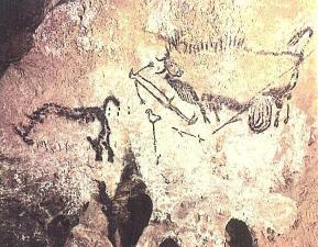 Cave painting in Lascaux (289x225)