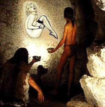 A caricatured cave art (346x353)