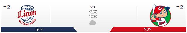 広島西武_オープン戦