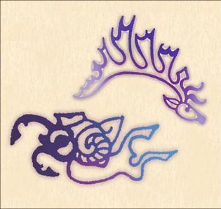princess, fingers tattoo