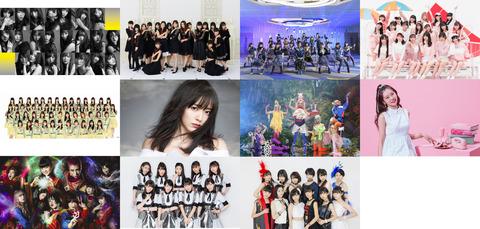 【朗報】テレ朝夏祭りサマステにAKB48・SKE48・HKT48・みるきーの出演が決定!