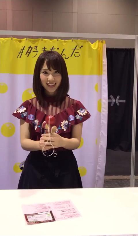 【AKB48G】メンバーが握手会で一心不乱にけん玉をする姿をご覧くださいwwwwww【動画】