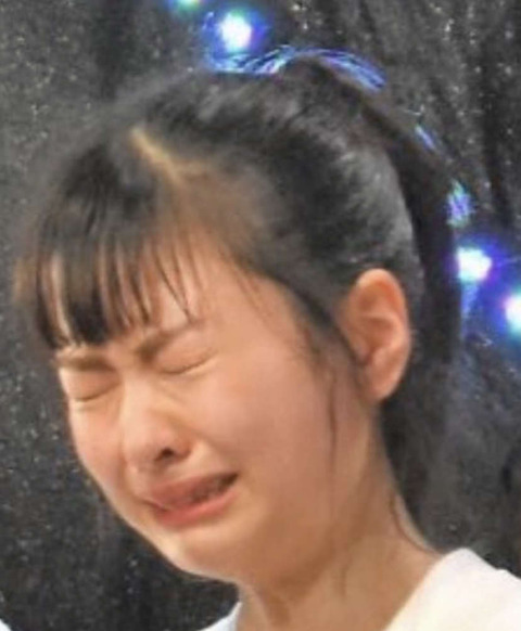 【HKT48】号泣してる松岡はなちゃんの画像wwwwww