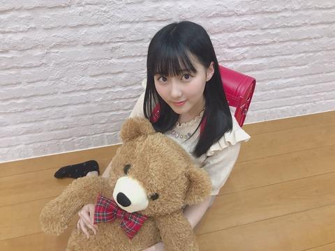【朗報】爆乳小学生メンバーが発見される!!!【HKT48・田中美久】