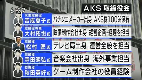 【八百長】AKS吉成夏子社長、係争中の犯人グループとコンタクトを取ってた