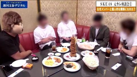 【文春】SKE48元カレ座談会「エスカにポスター貼ってますけど、ココはメンバーとデートしてトイレでHしてた場所ですよw」