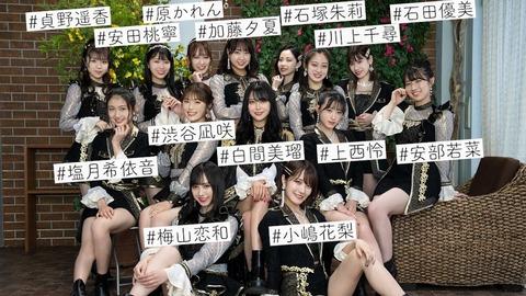 【NMB48】25th Single「#シダレヤナギ」を歌番組で初披露!