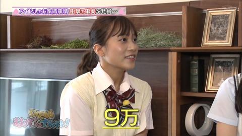 【SKE48】リーダー斉藤真木子が住んでる家の家賃は9万円