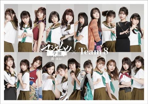 【朗報】チーム8解散無し!岡部麟「チーム8は続けます!」【AKB48】