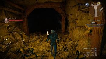 ウィッチャー3 洞窟 (2)