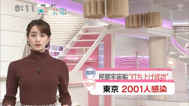 後呂有紗 news every Oha!4 ZIP! 1