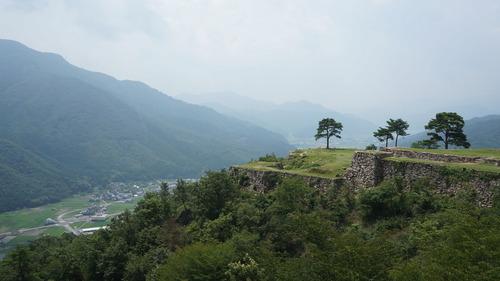 Eitaro × Ninja : 【7/29マスツー】兵庫の竹田城跡に行ってきたよ~ん(*´ω`*)出石蕎麥ウマー
