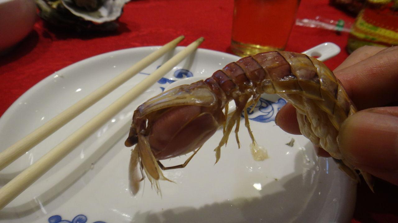 中國的 海鮮料理~(・ ・)ゞ : 為拉面服務@厚木