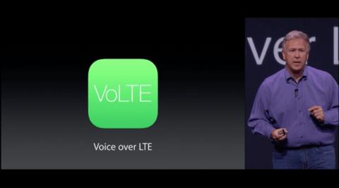 iPhone6がVoLTE対応