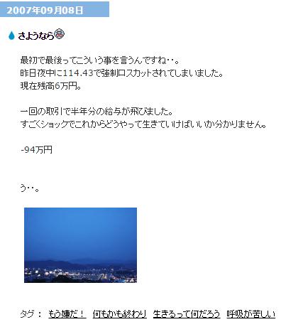 fxブログ
