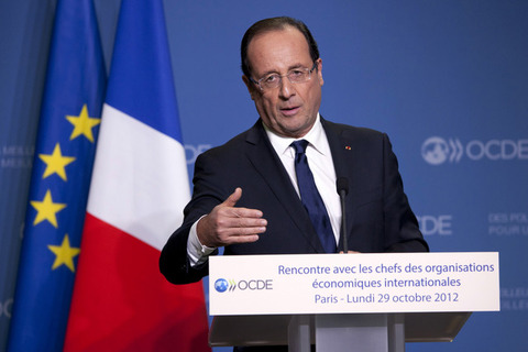 フランスのオランド大統領