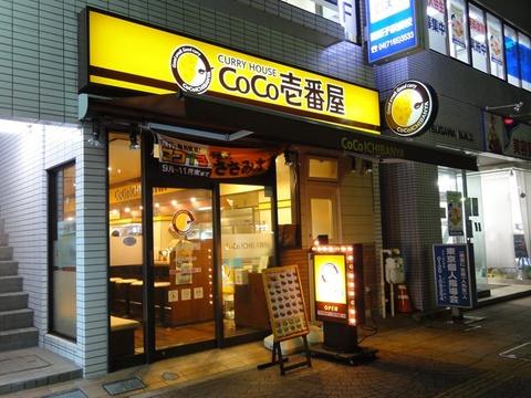 カレーCoCo壱番屋の株価