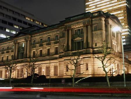 日本銀行が異次元緩和継続