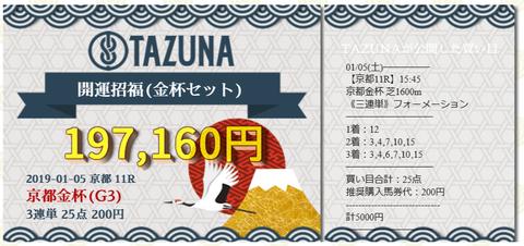 京都金杯tazuna
