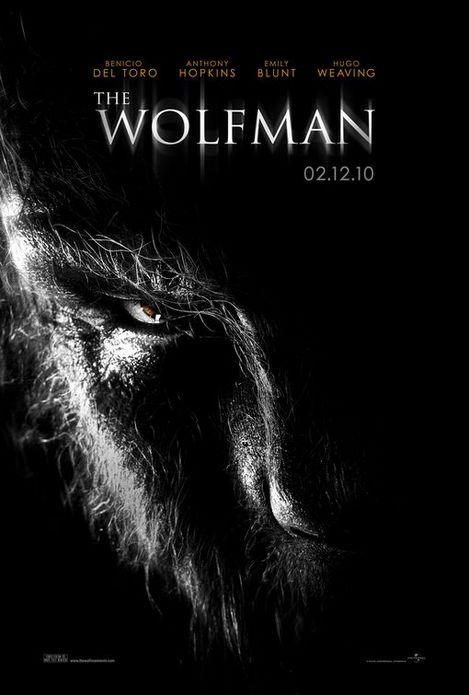 ウルフマン-ベニチオ・デル・トロ-ポスター