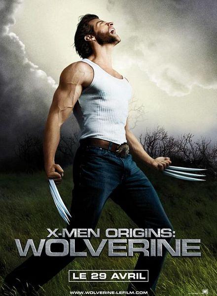 X-MEN-ウルヴァリン-フレンチ・ポスター