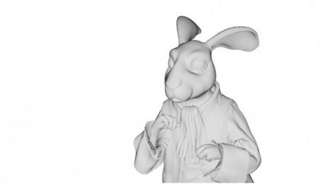 アリス・イン・ワンダーランド-白ウサギ-2