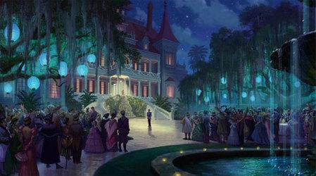 ディズニー--プリンセス・アンド・フロッグ-2