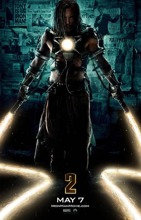 アイアンマン2-ポスター-ミッキー・ローク