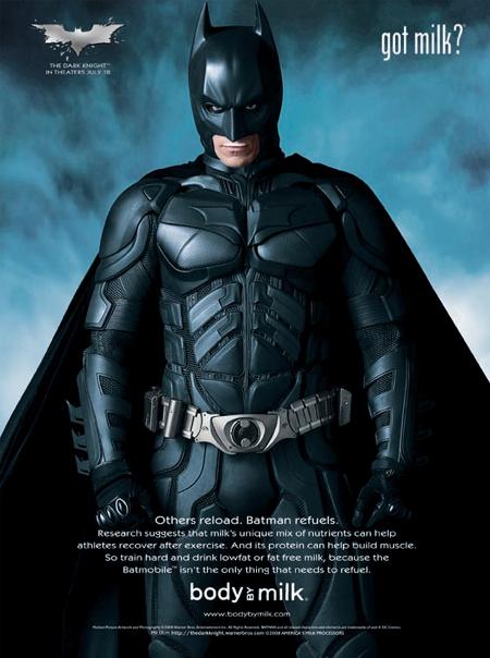 バットマン-ダークナイト-ミルク-ポスター