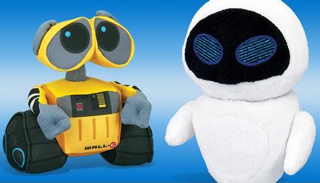 WALL・E-イヴ-ぬいぐるみ