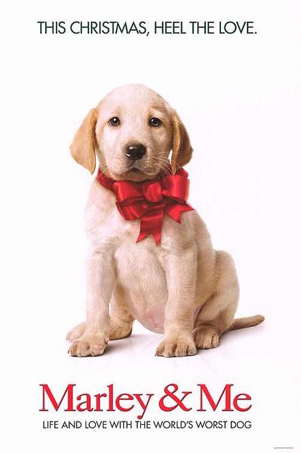 マーリー-世界一おバカな犬が教えてくれたこと-ポスター