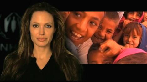 アンジェリーナ・ジョリーー世界難民の日
