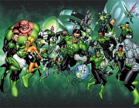 グリーンランタン-DCコミック