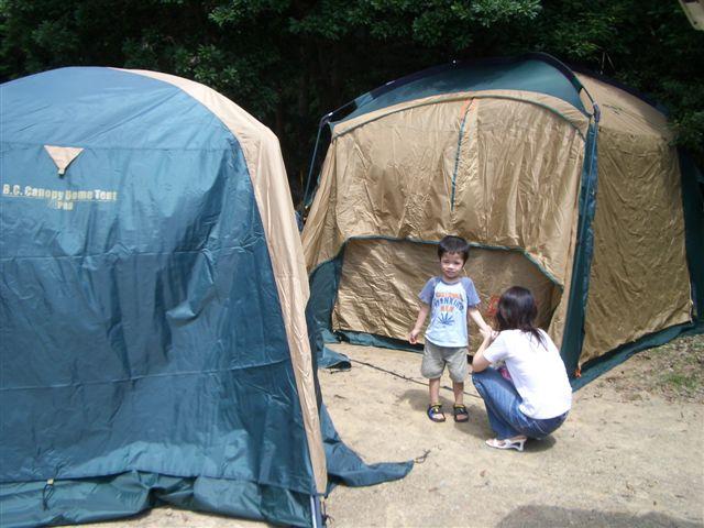 キャンプに行こう!の準備。 +オリジナルデザインカップラーメン : 子供と遊ぼう!