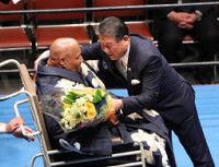 徳光和夫さん、ブッチャー引退式でのリング上での会話を明かす「お前、オレの部屋に来たじゃないか」