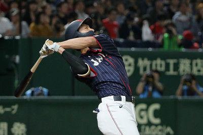 【日米野球】侍ジャパン柳田が大暴れ!先制打&2戦連続アーチで3打点3回猛攻で5-0