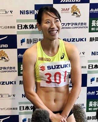 福島千里が優勝、完全復活へ一歩「きっかけになるレース」女子200m