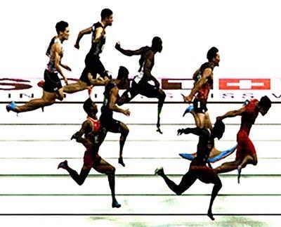 <アジア大会>山県9秒台に7センチ足りず計測の仕組みは