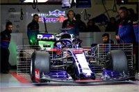 【F1テスト4日目午前タイム】トロロッソ・ホンダ&アルボン、ルノーとメルセデスを抑えてトップ!