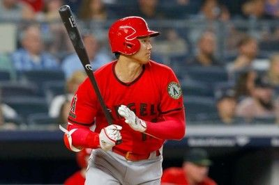 【MLB】大谷、第4打席にメジャー初併殺打6回無死一、三塁に遊ゴロで追加点