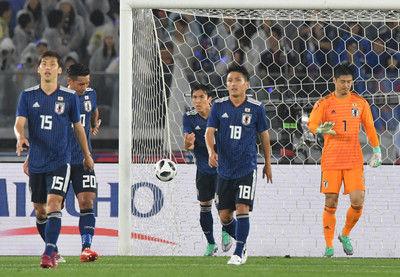 <サッカー日本代表>ガーナに完敗西野監督初陣飾れず