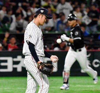 阪神・岩貞、ホロ苦侍デビュー1回5失点…日米野球でリベンジだ