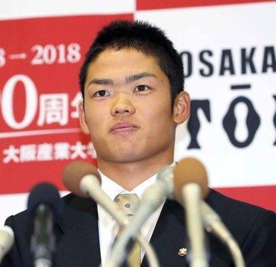 【ドラフト】大阪桐蔭・根尾は中日が交渉権獲得