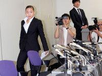 コーチ暴力問題の宮川が都内で会見日本協会の塚原強化本部長から「パワハラ受けた」と告発