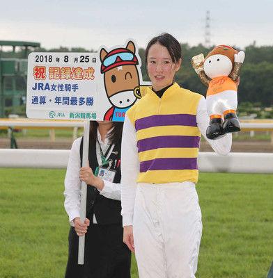 菜七子、女性単独最多のJRA35勝目!デビューからわずか2年半のスピード到達