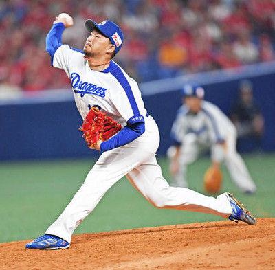 中日田島、被弾で課題「左打者にシュートしていた」