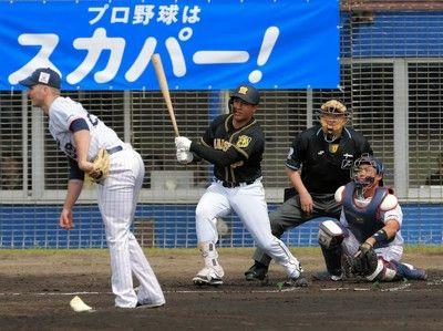 阪神オープン戦開幕戦でいきなり3連打ナバーロの右前適時打で先制