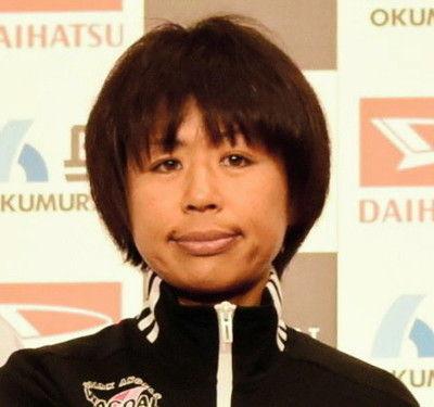 福士加代子、12・7キロ付近で転倒、出血もすぐ起き上がり競技再開